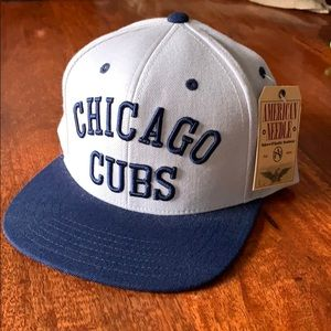 Chicago Cubs adjustable flatbill hat *Tag still on